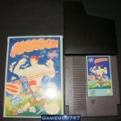 Amagon - Nintendo NES - With Box & Catridge Sleeve