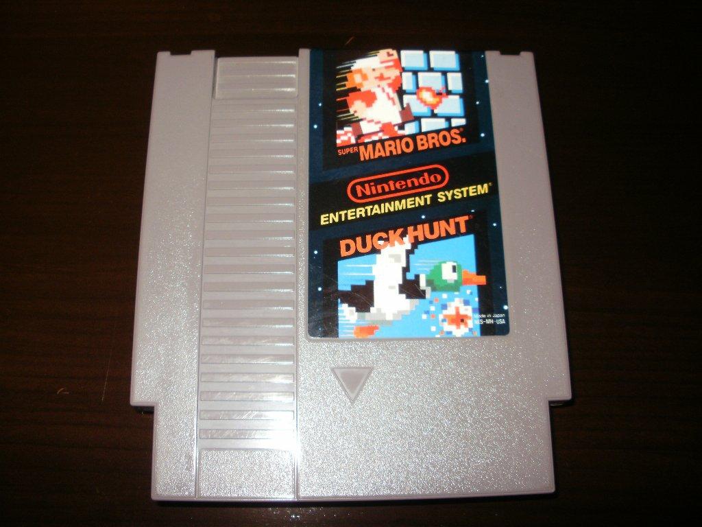 Super Mario Bros & Duck Hunt - Nintendo NES