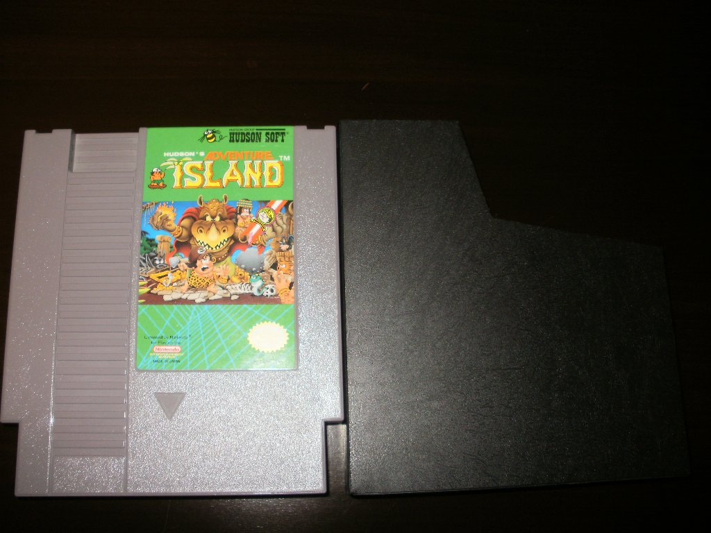 Adventure Island - Nintendo NES - With Cartridge Sleeve