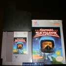 Captain Skyhawk - Nintendo NES - With Box and Cartridge Sleeve