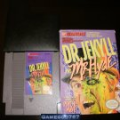 Dr. Jekyll and Mr. Hyde - Nintendo NES - With Box and Cartridge Sleeve