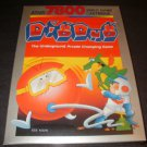 Dig Dug - Atari 7800 - New Factory Sealed
