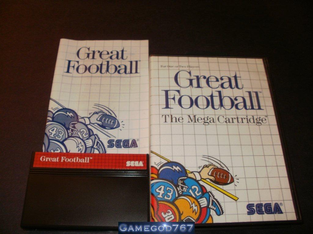 Great Football - Sega Master System - Complete CIB