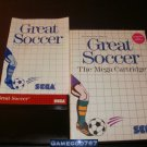Great Soccer - Sega Master System - Complete CIB