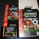 Jeopardy Sports Edition - Sega Genesis - Complete CIB