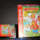 Berenstain Bears' Camping Adventure - Sega Genesis - With Box