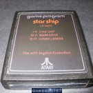 Star Ship - Atari 2600 - 1978 Text Label Version