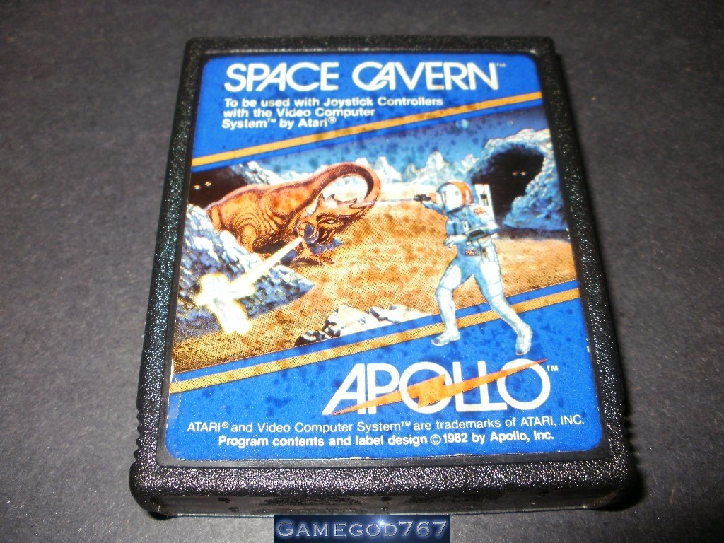 Space Cavern - Atari 2600