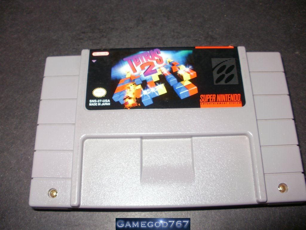Tetris 2 - SNES Super Nintendo