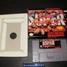 Super Street Fighter II - SNES Super Nintendo - With Box