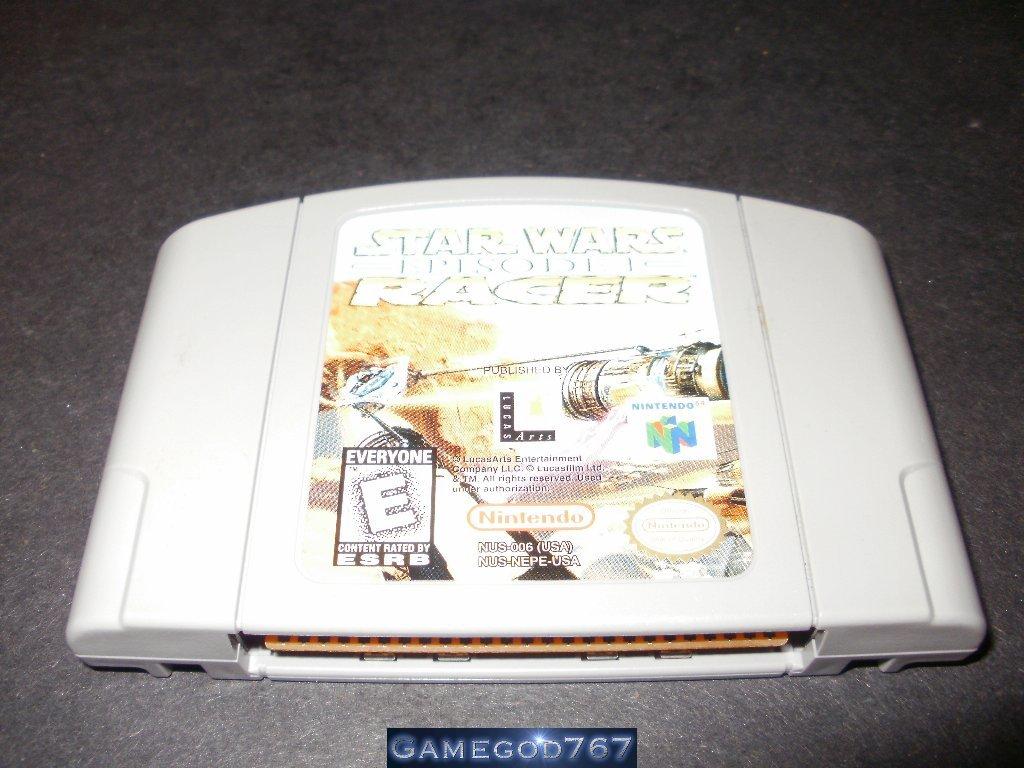 Star Wars Episode I Racer - N64 Nintendo