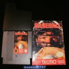 Tecmo Baseball - Nintendo NES - With Box & Cartridge Sleeve