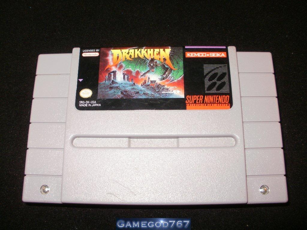 Drakkhen - SNES Super Nintendo