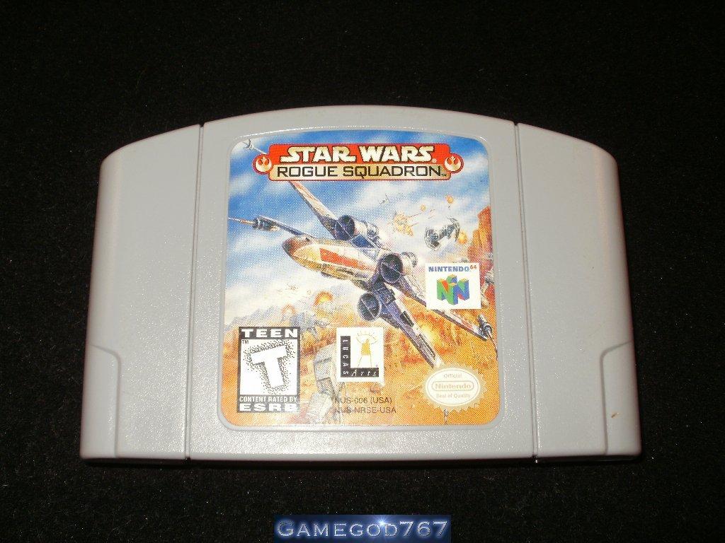 Star Wars Rogue Squadron - N64 Nintendo