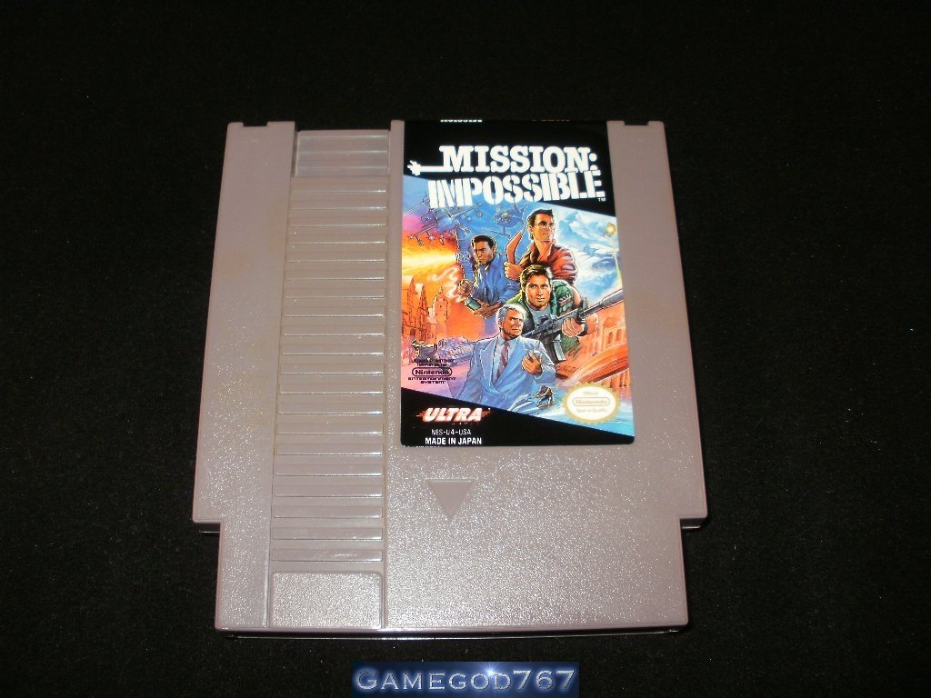 Mission Impossible - Nintendo NES
