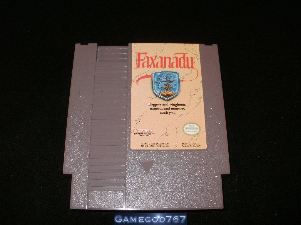 Faxanadu - Nintendo NES