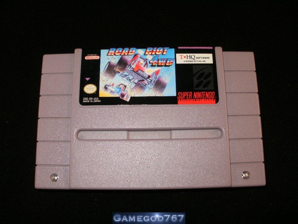 Road Riot 4WD - SNES Super Nintendo