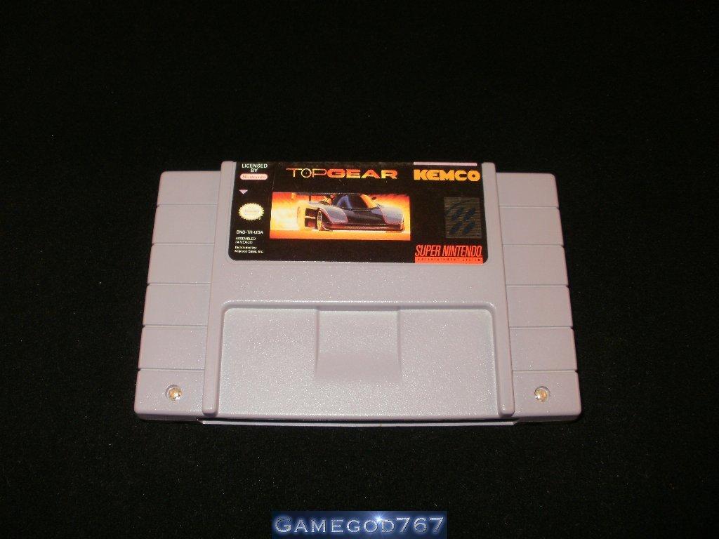 Top Gear - SNES Super Nintendo
