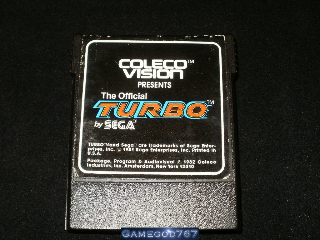 Turbo - Colecovision