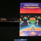 TI Invaders - Texas Instruments TI-99 - With Manual