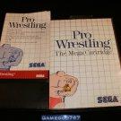 Pro Wrestling - Sega Master System - Complete CIB