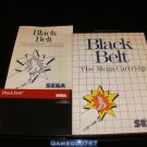 Black Belt - Sega Master System - Complete CIB