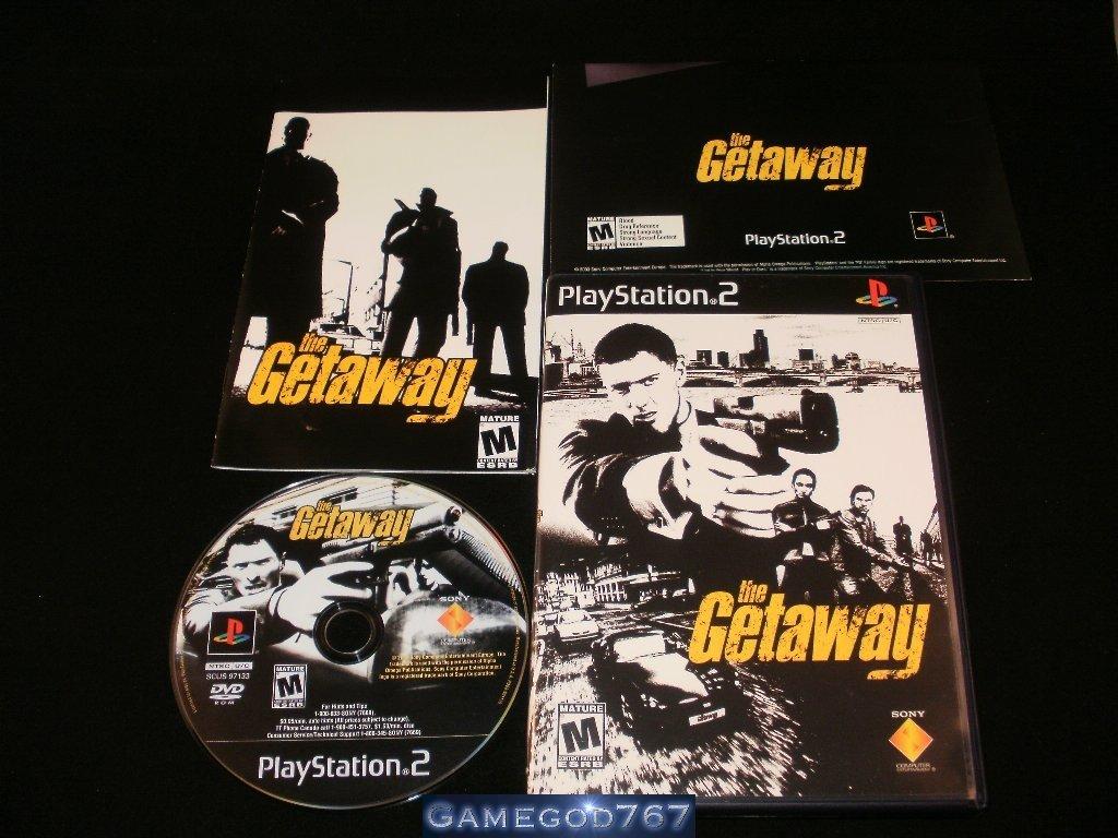 The Getaway - Sony PS2 - Complete CIB