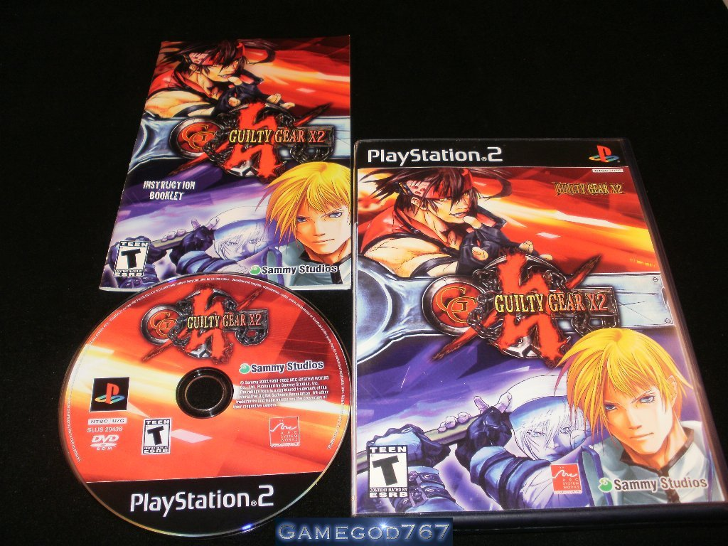 Guilty Gear X2 - Sony PS2 - Complete CIB - Rare