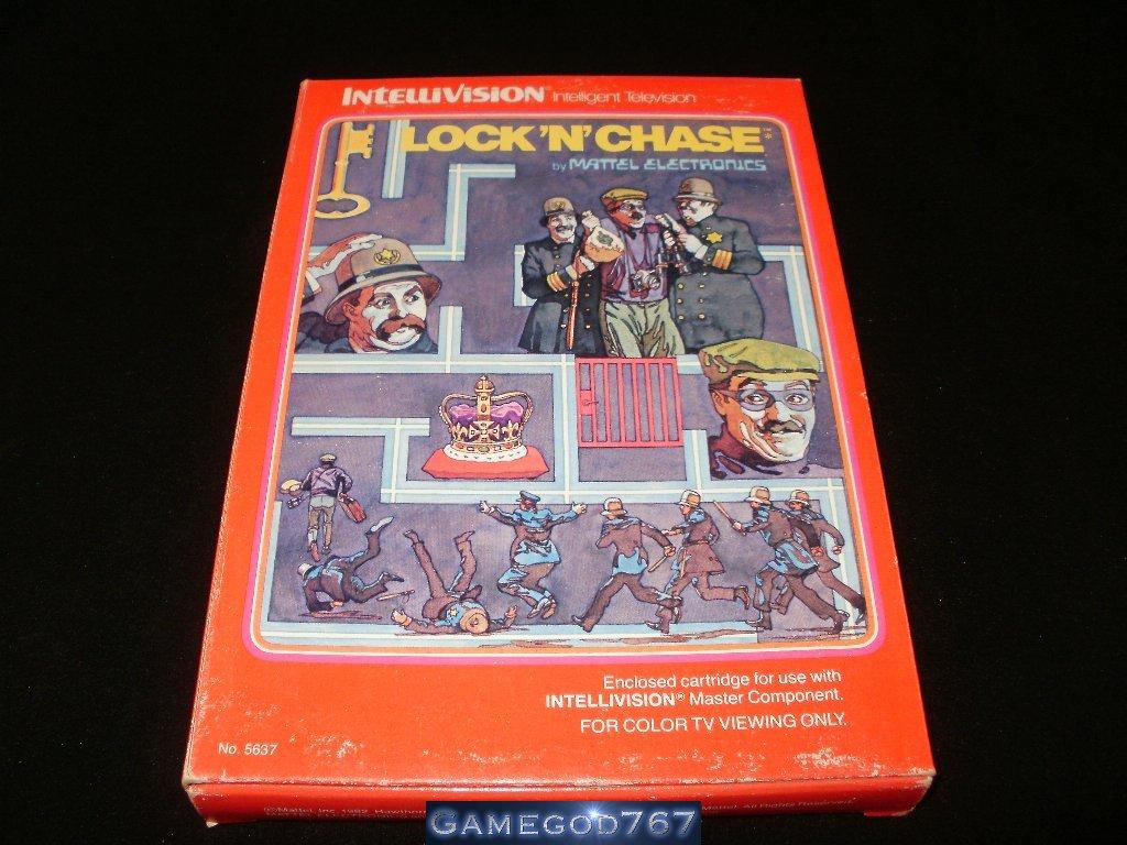 Lock N Chase - Mattel Intellivision - Complete CIB