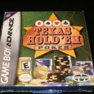 Texas Hold 'Em Poker - Game Boy Advance - Brand New