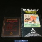 Air-Sea Battle - Atari 2600 - With Manual
