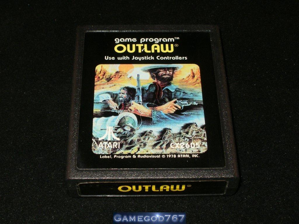 Outlaw - Atari 2600