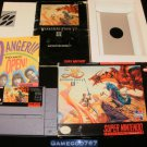Ys III Wanderers from Ys - SNES Super Nintendo - Complete CIB