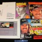 Kyle Petty's No Fear Racing - SNES Super Nintendo - Complete CIB