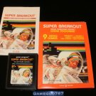Super Breakout - Atari 2600 - Complete