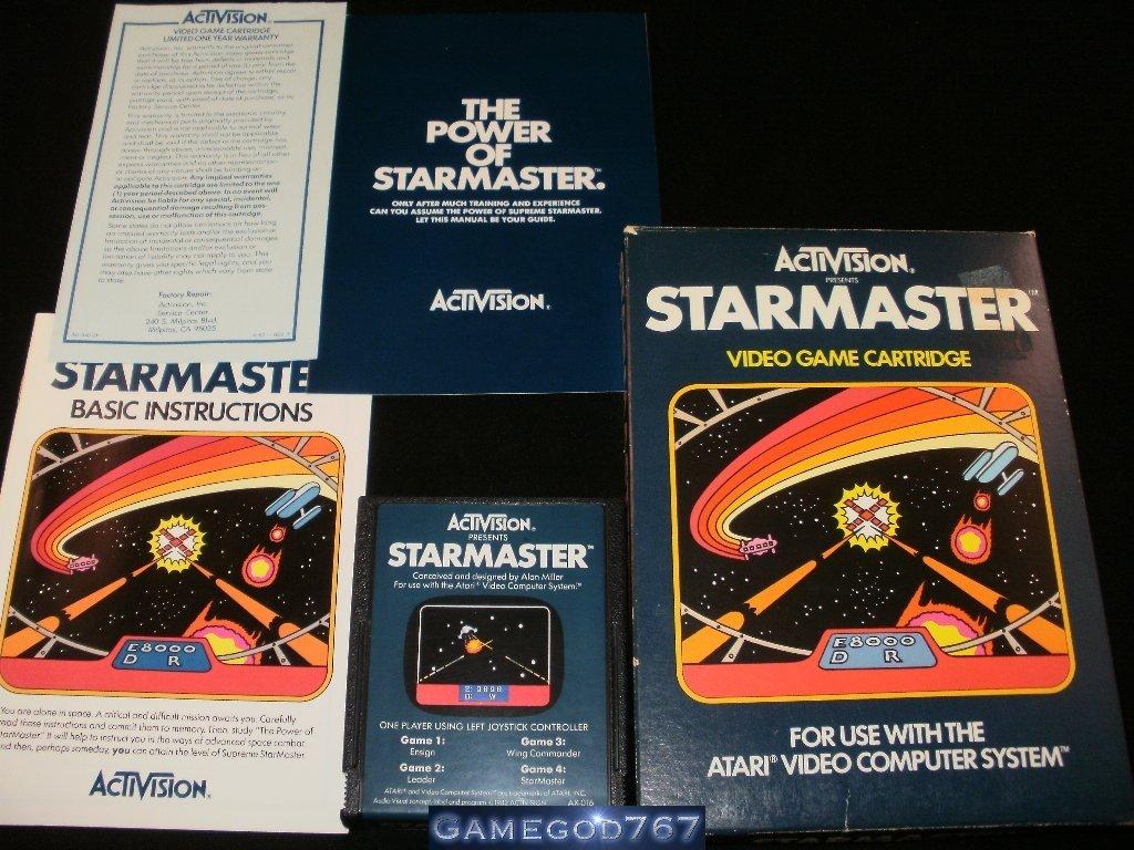 Starmaster - Atari 2600 - Complete