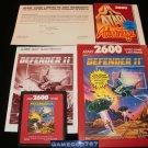Defender II - Atari 2600 - Complete CIB