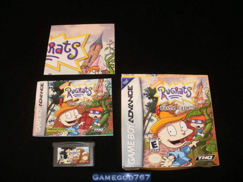 Rugrats Castle Capers - Nintendo Game Boy Advance - Complete CIB