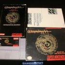 Wizardry V - SNES Super Nintendo - Complete CIB