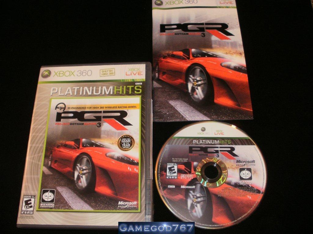 Project Gotham Racing 3 - Xbox 360 - Complete CIB