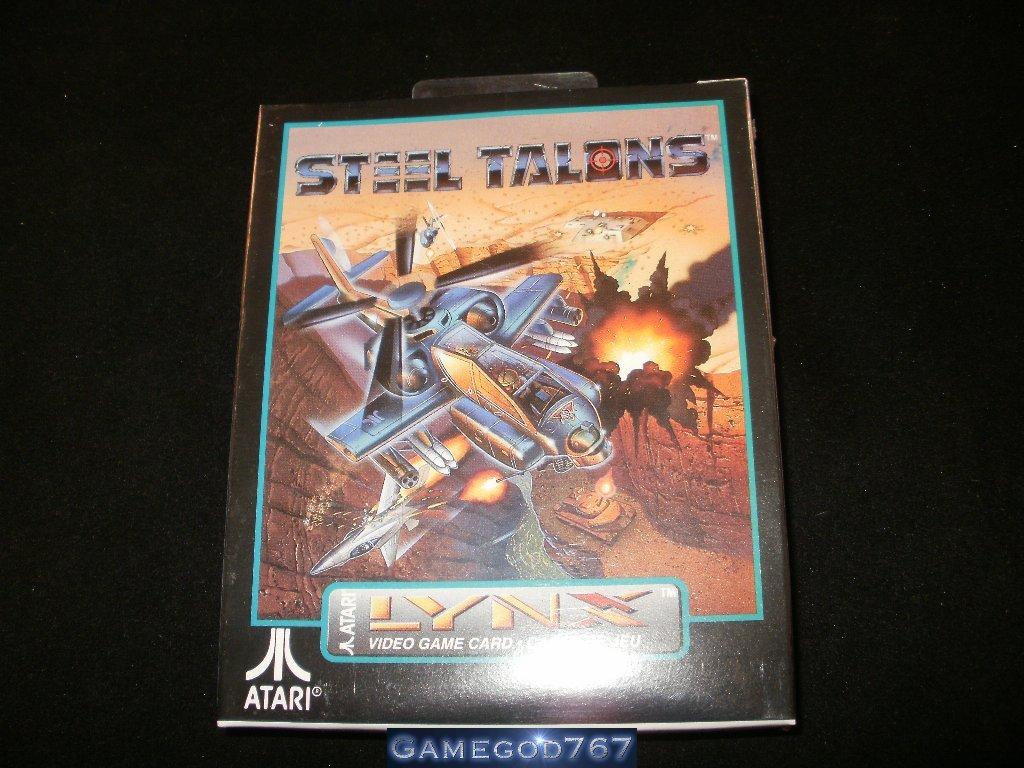Steel Talons - Atari Lynx - New Factory Sealed