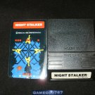 Night Stalker - Mattel Intellivision - With Overlay - White Label