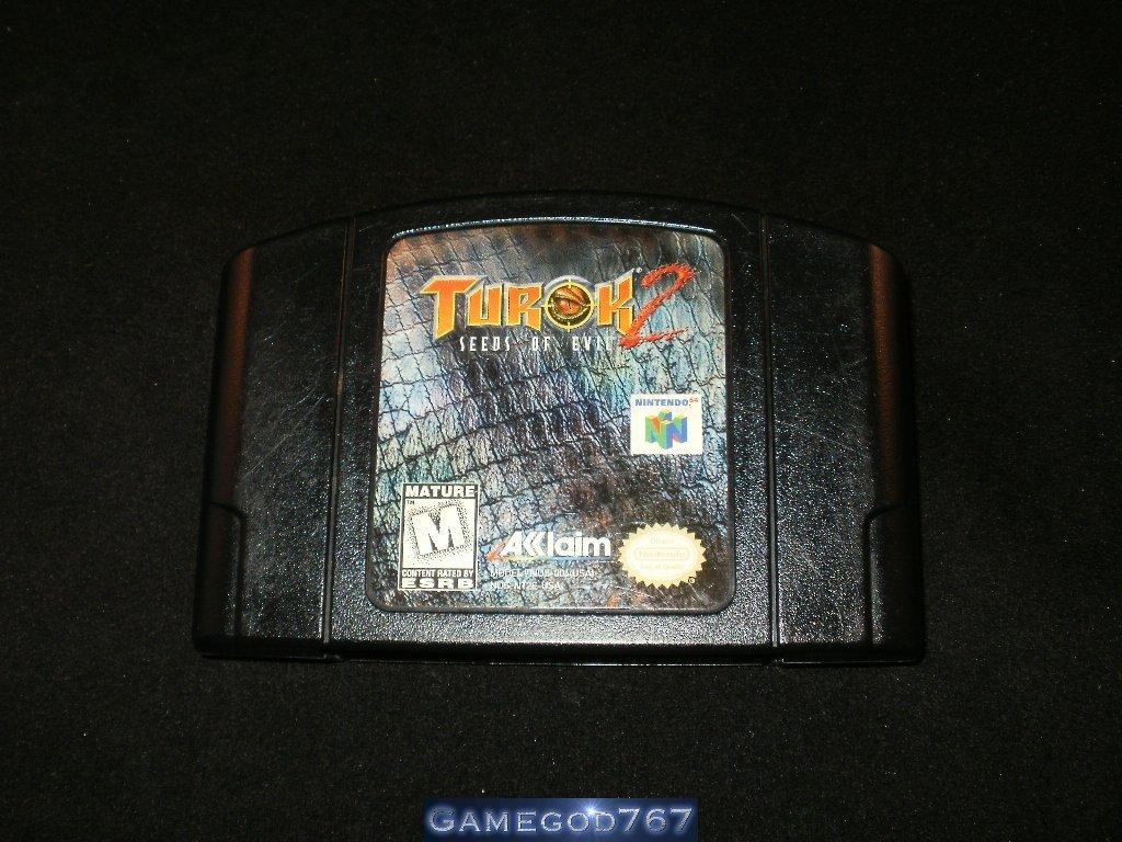 Turok 2 Seeds of Evil - N64 Nintendo