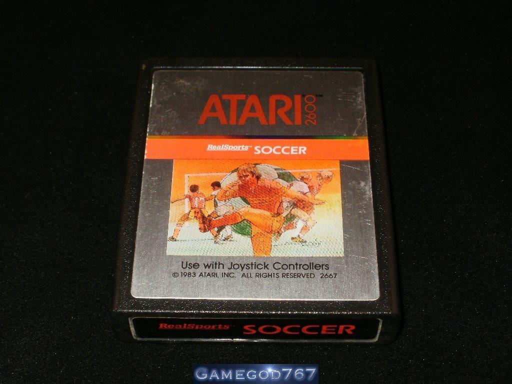 RealSports Soccer - Atari 2600