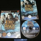 Lord of the Rings The Two Towers - Sony PS2 - Complete CIB
