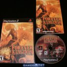 Forever Kingdom - Sony PS2 - Complete CIB - Rare