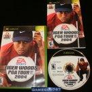 EA Sports Tiger Woods PGA Tour 2004 - Microsoft Xbox - Complete CIB