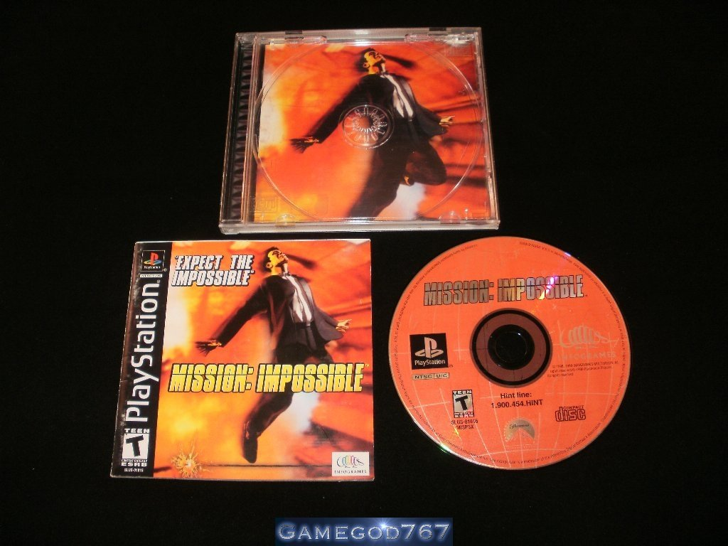 Mission Impossible- Sony PS1 - Complete CIB