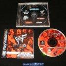 WWF Attitude - Sony PS1 - Complete CIB
