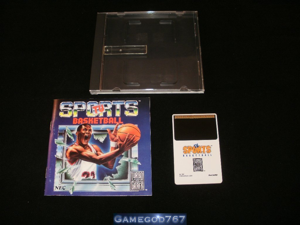 TV Sports Basketball - Turbo Grafx 16